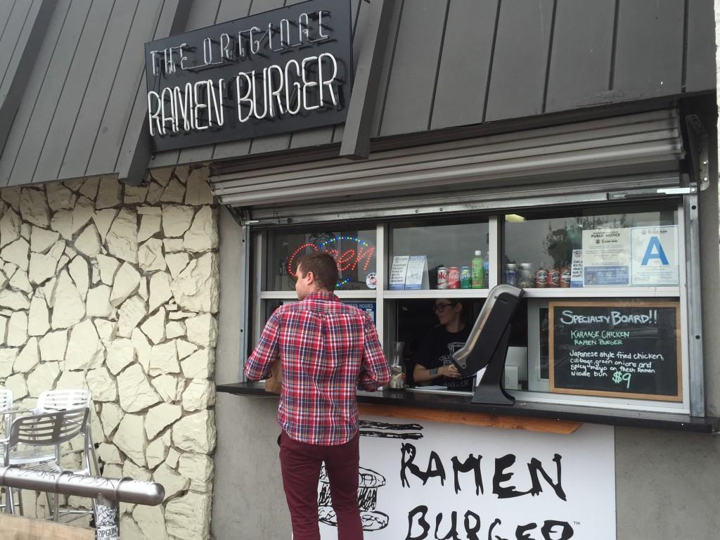 The exterior of The Original Ramen Burger