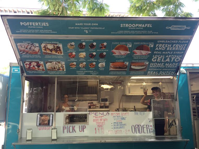 LAs Sweet Escape Amsterdam Food Truck Girls On