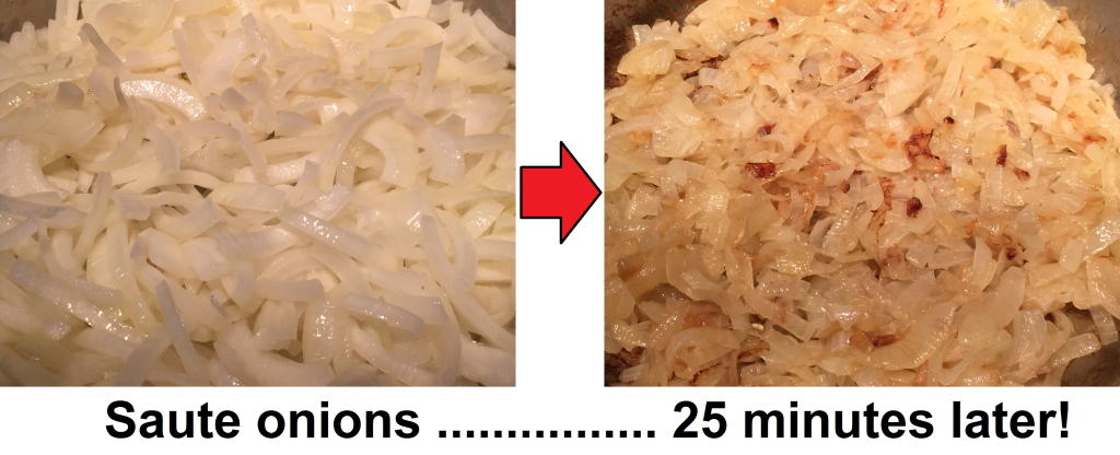 caramelize onions