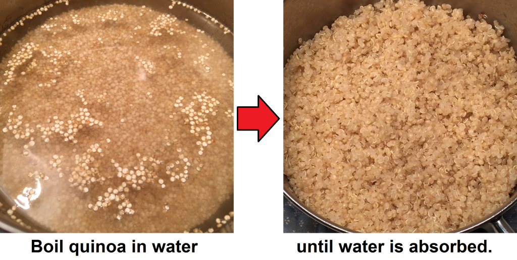 quinoa cooking