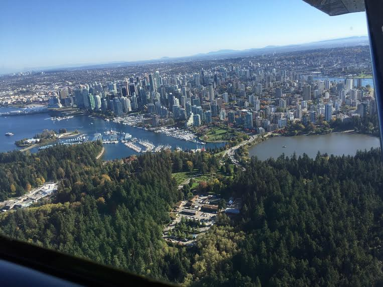 The view from our Whistler Air tour