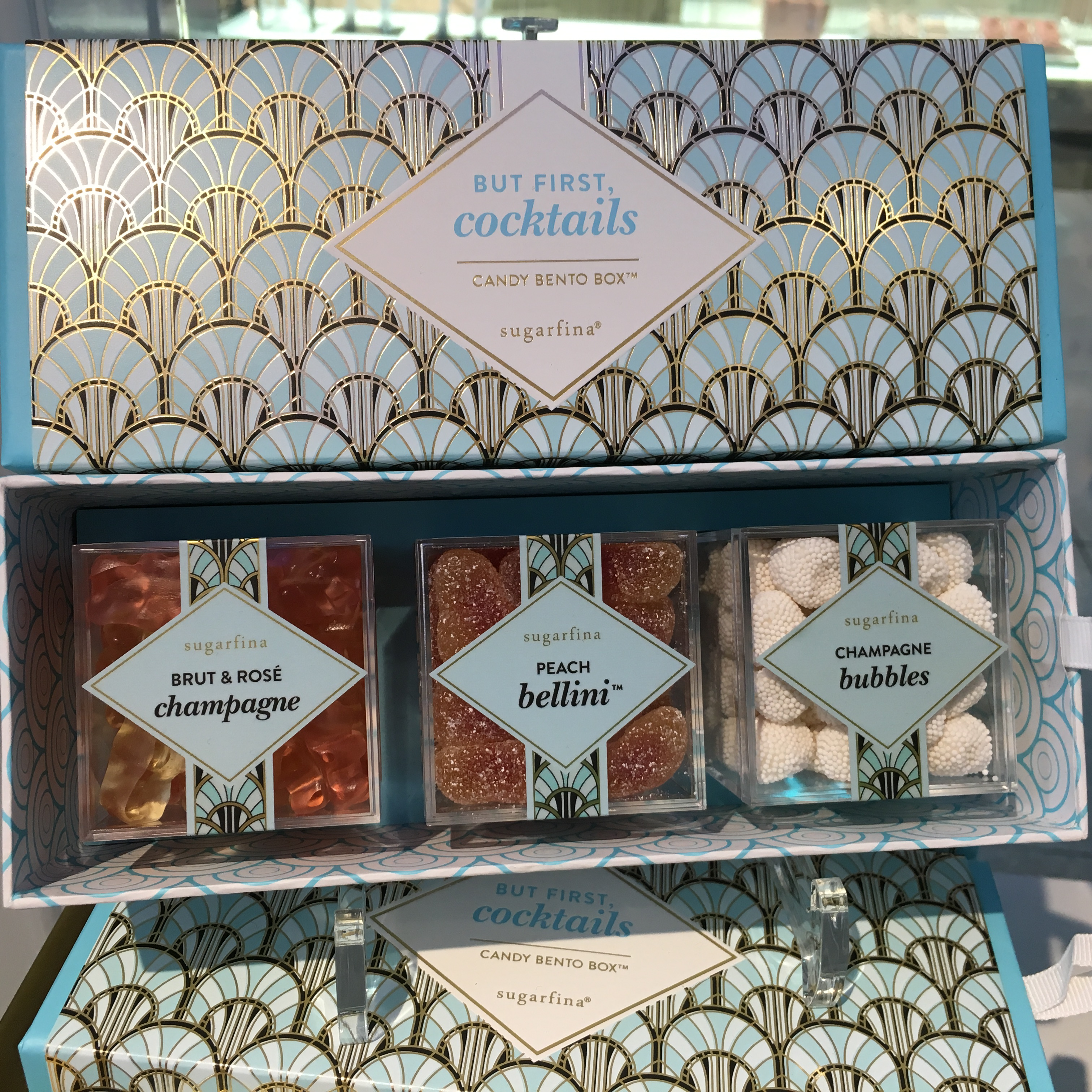 Cocktail themed gift box
