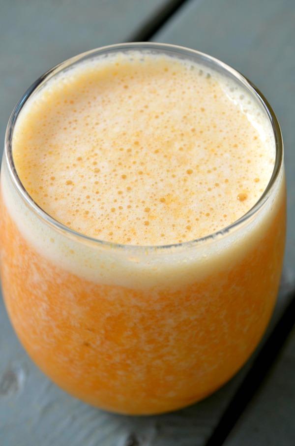 healing tropical turmeric smoothie