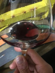 2015 Pinot Noir, Helluva Vineyard - new French oak barrel