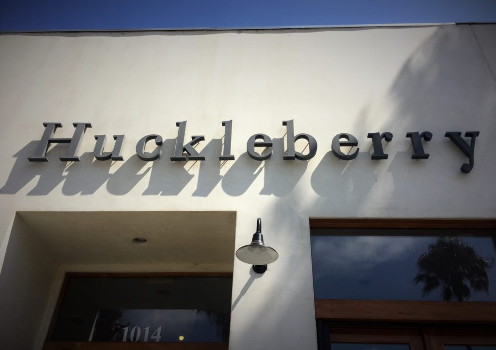 santa monica, california, huckleberry cafe