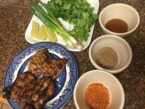 ingredients for larb gai
