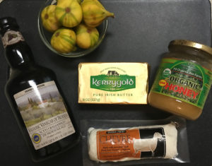 Stuffed Fig Ingredients