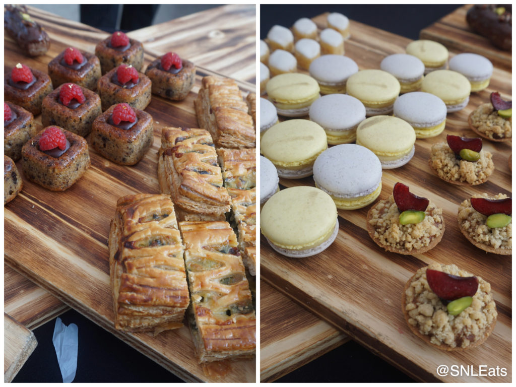 Treats created by George Brown Pastry Chefs