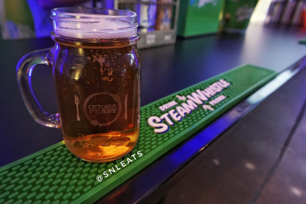 Steamwhistle beer