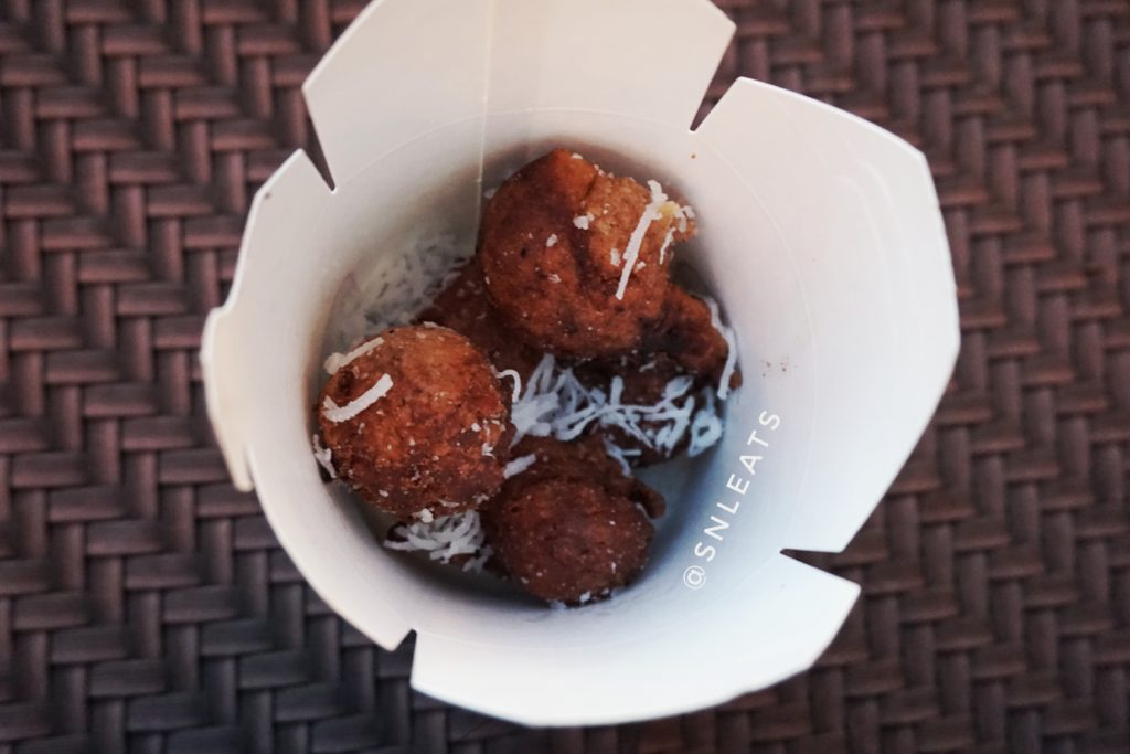 African Coconut Donuts