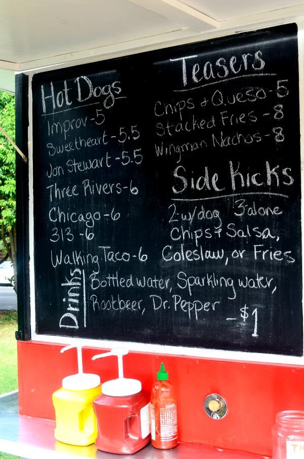 doggie style menu