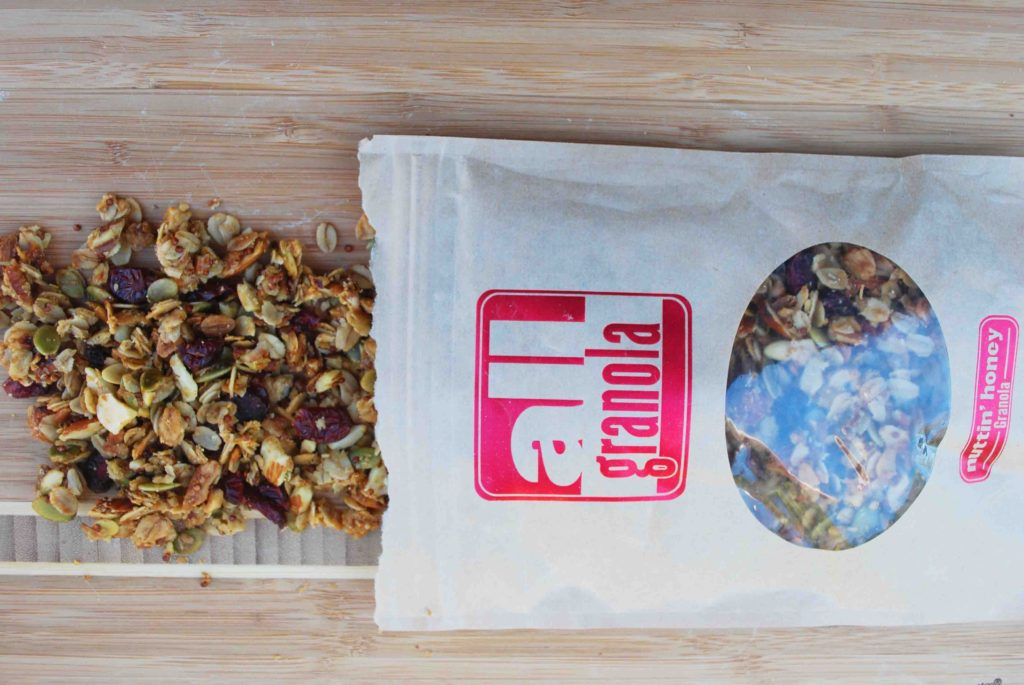 White Chocolate Granola Bark - All Granola
