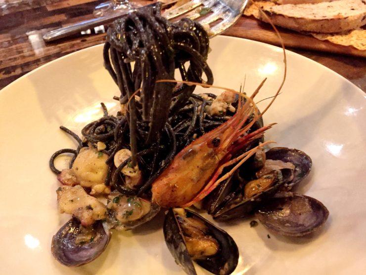 Squid Ink Linguiene