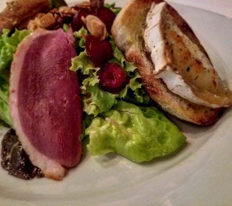 smokedduck-salad