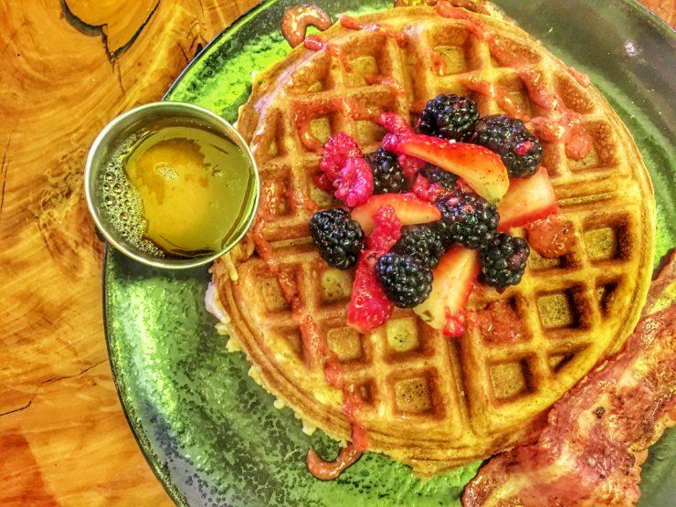 SkinnyFats Las Vegas Berry Strong Waffle