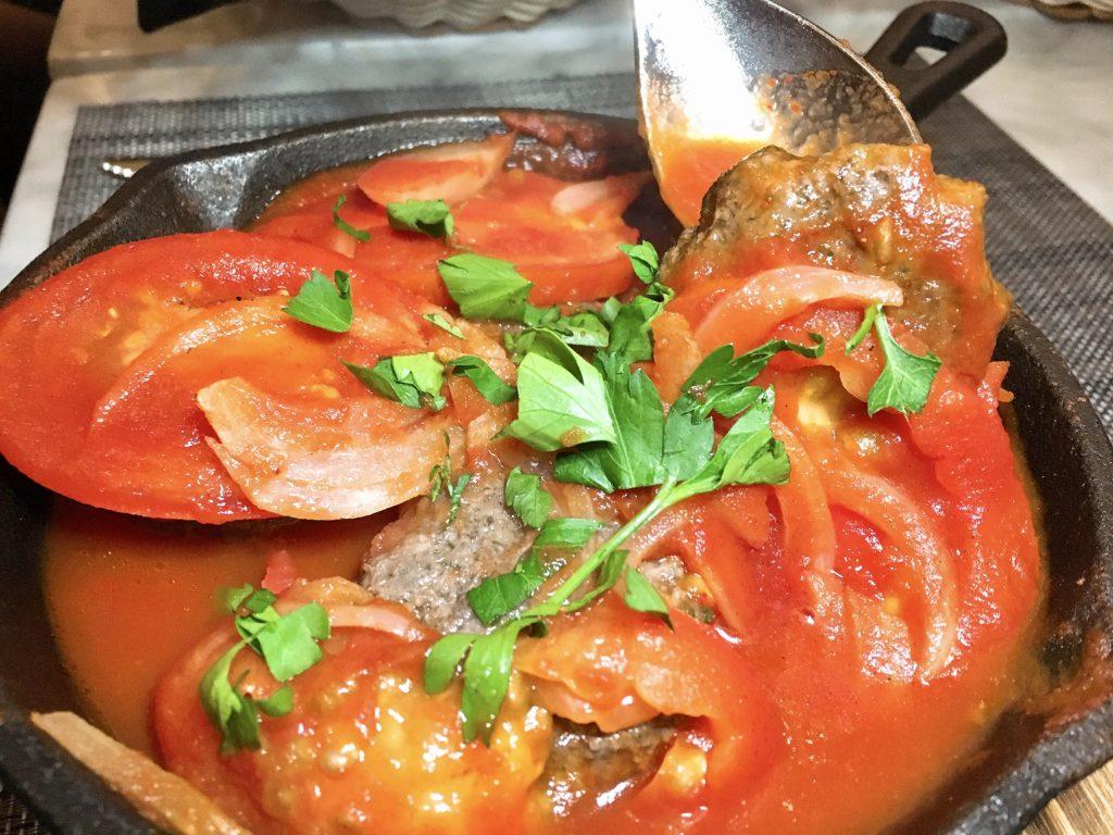 kafta - ragout - Zatar Dallas - Lebanese food